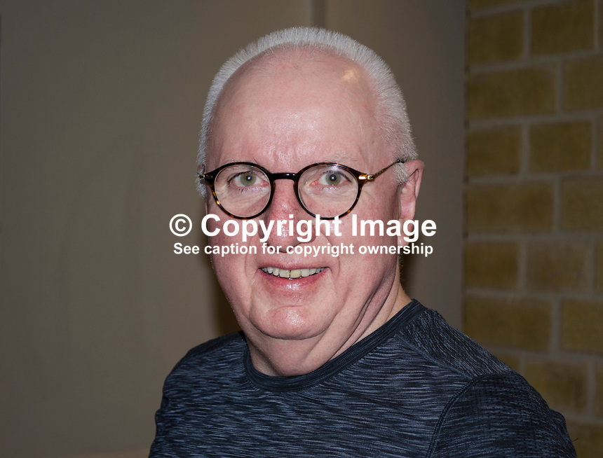 Hugh Jordan, journalist, Belfast office, Sunday World, newspaper, publisher, Independent News &amp; Media, Dublin, Rep of Ireland, September, 2017, 201709224641<br />