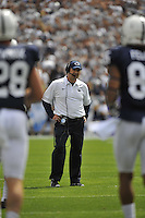 07 September 2013:  Penn State coach Bill O'Brien . The Penn State Nittany Lions defeated the Eastern Michigan Eagles 45-7 at Beaver Stadium in State College, PA.