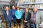At the new Kerry Bookstore on Tuesday. <br /> Front l to r: Helen McElligott and Jim Cantillon. <br /> Back l to r: Michael Quinn, Tommy Cantillon and Patricia Fitzgerald.
