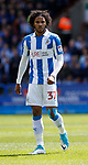 Isiah Brown of Huddersfield Town during the English Championship play-off 1st leg match at the John Smiths Stadium, Huddersfield. Picture date: May 13th 2017. Pic credit should read: Simon Bellis/Sportimage