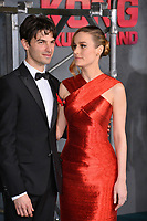Brie Larson &amp; Alex Greenwald at the premiere for &quot;Kong: Skull Island&quot; at Dolby Theatre, Los Angeles, USA 08 March  2017<br /> Picture: Paul Smith/Featureflash/SilverHub 0208 004 5359 sales@silverhubmedia.com