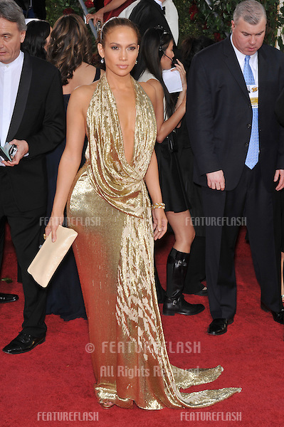 Jennifer Lopez at the 66th Annual Golden Globe Awards at the Beverly Hilton Hotel..January 11, 2009 Beverly Hills, CA.Picture: Paul Smith / Featureflash