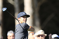 Thorbjorn Olesen (DEN) tees off the 4th tee during Saturday's Round 3 of the 2018 Turkish Airlines Open hosted by Regnum Carya Golf &amp; Spa Resort, Antalya, Turkey. 3rd November 2018.<br /> Picture: Eoin Clarke | Golffile<br /> <br /> <br /> All photos usage must carry mandatory copyright credit (&copy; Golffile | Eoin Clarke)