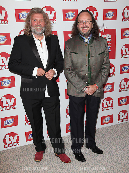 Si King and Dave Myers - The Hairy Bikers arriving for the 2012 TVChoice Awards, at the Dorchester Hotel, London. 10/09/2012. Picture by:  Alexandra Glen / Featureflash