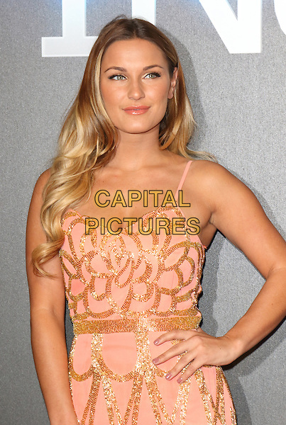 LONDON, ENGLAND - MARCH 11: Sam Faiers attends the World Premiere of 'Insurgent' at Odeon Leicester Square on March 11, 2015 in London, England<br /> CAP/ROS<br /> &copy;Steve Ross/Capital Pictures