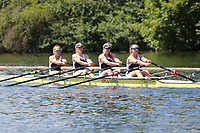 Race: 10  Event: Aspirational 4x<br /> Crew: 202  Club: Molesey<br /> <br /> Henley Women's Regatta 2018<br /> Friday<br /> <br /> To purchase this photo, or to see pricing information for Prints and Downloads, click the blue 'Add to Cart' button at the top-right of the page.