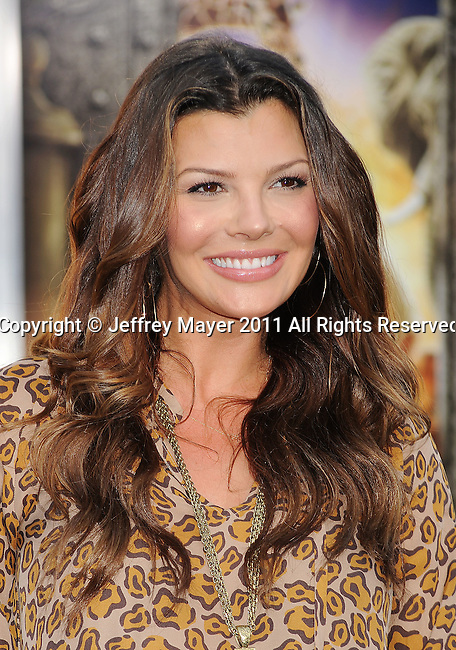 "WESTWOOD, CA - JULY 06: Ali Landry arrives to the ""Zookeeper"" Los Angeles Premiere at Regency Village Theatre on July 6, 2011 in Westwood, California."
