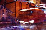 Main St. trolley- Historic Old Town District.Park City, Utah, USA  digital illustration file #8475_76v2