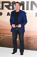 "Arnold Schwarzenegger<br /> at the ""Terminator: Dark Fate"" photocall, London.<br /> <br /> ©Ash Knotek  D3529 17/10/2019"