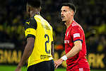 10.11.2018, Signal Iduna Park, Dortmund, GER, 1.FBL, Borussia Dortmund vs FC Bayern M&uuml;nchen, DFL REGULATIONS PROHIBIT ANY USE OF PHOTOGRAPHS AS IMAGE SEQUENCES AND/OR QUASI-VIDEO<br /> <br /> im Bild | picture shows:<br /> Einzelaktion Sandro Wagner (Bayern #2), <br /> <br /> Foto &copy; nordphoto / Rauch