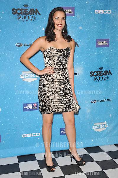 Jaimie Alexander at the 2009 Spike TV Scream Awards, at the Greek Theatre, Los Angeles..October 17, 2009  Los Angeles, CA.Picture: Paul Smith / Featureflash