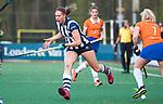 BLOEMENDAAL  - Hockey -  finale KNHB Gold Cup dames, Bloemendaal-HDM . Bloemendaal wint na shoot outs. Pien van Nes (HDM).  COPYRIGHT KOEN SUYK