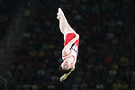 Masaki Ito (JPN), <br /> AUGUST 13, 2016 - Trampoline : <br /> Men's Qualification <br /> at Rio Olympic Arena <br /> during the Rio 2016 Olympic Games in Rio de Janeiro, Brazil. <br /> (Photo by Sho Tamura/AFLO SPORT)