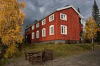 STF Kvikkjokk Fjällstation, Kungsleden Trail, Lapland, Sweden