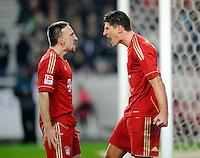 Fussball Bundesliga 2011/12: VFB Stuttgart - FC Bayern Muenchen