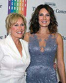 Stage and screen actress Laura Benanti, right, and Linda Benanti arrive for the formal Artist's Dinner honoring the recipients of the 2014 Kennedy Center Honors hosted by United States Secretary of State John F. Kerry at the U.S. Department of State in Washington, D.C. on Saturday, December 6, 2014. The 2014 honorees are: singer Al Green, actor and filmmaker Tom Hanks, ballerina Patricia McBride, singer-songwriter Sting, and comedienne Lily Tomlin.<br /> Credit: Ron Sachs / Pool via CNP