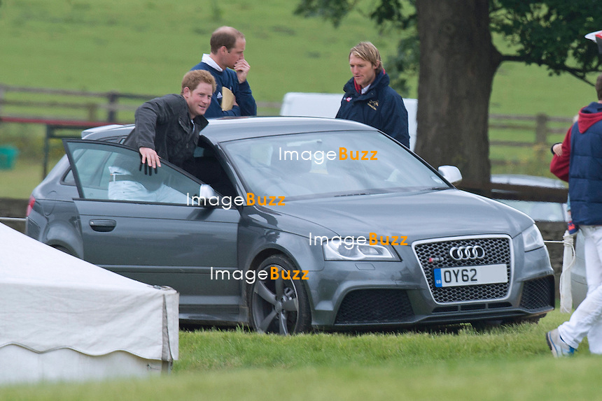 Prince William Amp Prince Harry At A Polo Match Charity