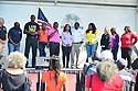 MIRAMAR,  FLORIDA - JANUARY 20: Pembroke Pines Commissioner Angelo Castillo, City of Miramar Mayor Wayne Messam, City of Miramar Vice Mayor Alexandra P. Davis, City of Miramar Commissioner Maxwell B. Chambers, City of Miramar Commissioner Yvette Colbourne, Broward County Commissioner Barbara Sheriff and Broward County Mayor Dale V.C. Holness attend the annual Reverend Dr. Martin Luther King, Jr. Day celebration City Miramar MLK Parades between Sherman Cirrcle and Lakeshore Park on January 20, 2020 in Miramar, Florida.  ( Photo by Johnny Louis / jlnphotography.com )
