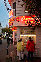 The Lobster Pot seafood eatery, Commerce Street, Provincetown, Cape Cod, MA, Massachusetts, USA