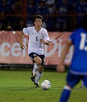 Jose Francisco Torres during FIFA World Cup qualifier against El Salvador. USA tied El Salvador 2-2 at Estadio Cuscatlán Stadium in El Salvador on March 28, 2009.