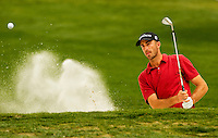 Geoff Ogilvy  during the third round of the Quail Hollow Championship at Quail Hollow Country Club on May 2, 2010 in Charlotte, North Carolina.  The event, formerly called the Wachovia Championship, is a top event on the PGA Tour, attracting such popular golf icons as Tiger Woods, Vijay Singh and Bubba Watson. Photo from the final round in the Quail Hollow Championship golf tournament at the Quail Hollow Club in Charlotte, N.C., Sunday , May 03, 2009..