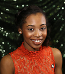 Hailey Kilgore attends the 2018 Tony Awards Meet The Nominees Press Junket on May 2, 2018 at the Intercontinental Hotel in New York City.