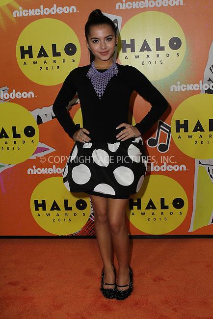WWW.ACEPIXS.COM<br /> <br /> November 14 2015, New York City<br /> <br /> Isabela Moner attending the 2015 Halo Awards at Pier 36 on November 14, 2015 in New York City<br /> <br /> By Line: Nancy Rivera/ACE Pictures<br /> <br /> <br /> ACE Pictures, Inc.<br /> tel: 646 769 0430<br /> Email: info@acepixs.com<br /> www.acepixs.com