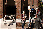 Students at the Lahore College of Arts, a progressive, liberal fine arts college in the city of Lahore
