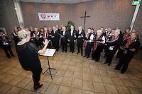 CULTUUR: Joure: 05-04- 2014, Zangconcours van de Bond van koren in Friesland, Algemeen Gemengd Koor Allégresse, ©foto Martin de Jong