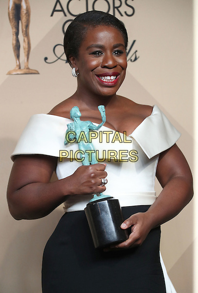 29 January 2017 - Los Angeles, California - Uzo Aduba. 23rd Annual Screen Actors Guild Awards held at The Shrine Expo Hall. <br /> CAP/ADM/FS<br /> &copy;FS/ADM/Capital Pictures