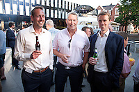 Summery smiles from left to right: Chris Carlisle of Decorum Estates, David Hargreaves of FHP and James Keeton of Jones Lang LaSalle