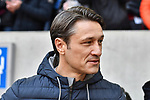 14.04.2019, Merkur Spiel-Arena, Duesseldorf, GER, DFL, 1. BL, Fortuna Duesseldorf vs FC Bayern Muenchen, DFL regulations prohibit any use of photographs as image sequences and/or quasi-video<br /> <br /> im Bild Niko Kovac (FC Bayern M&uuml;nchen / Muenchen) Mimik / starker Gesichtsausdruck / Emotion. <br /> <br /> Foto &copy; nph/Mauelshagen