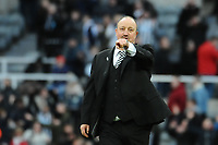 Newcastle United manager Rafa Benítez after the final whistle during Newcastle United vs Manchester United, Premier League Football at St. James' Park on 11th February 2018