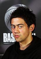 Brook Ruscoe. Junior Tall Blacks photoshoot at Te Rauparaha Arena, Porirua, Wellington, New Zealand on Friday 20 June 2008. Photo: Dave Lintott / lintottphoto.co.nz