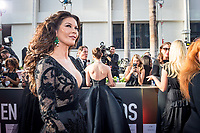 Catherine Zeta Jones arrives at the 75th Annual Golden Globes Awards at the Beverly Hilton in Beverly Hills, CA on Sunday, January 7, 2018.<br /> *Editorial Use Only*<br /> CAP/PLF/HFPA<br /> &copy;HFPA/Capital Pictures