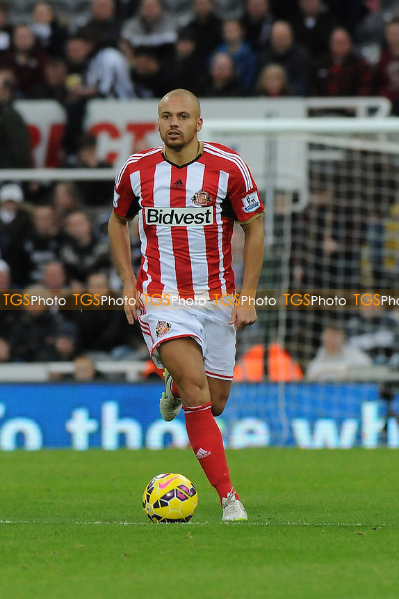 Wes Brown of Sunderland - Newcastle United vs Sunderland AFC - Barclays Premier League Football at St James Park, Newcastle upon Tyne - 21/12/14 - MANDATORY CREDIT: Steven White/TGSPHOTO - Self billing applies where appropriate - contact@tgsphoto.co.uk - NO UNPAID USE