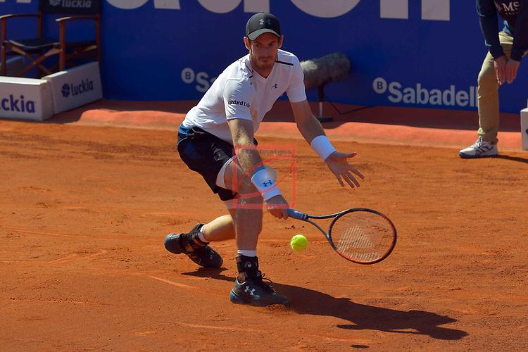 65e Trofeu Conde de Godo.<br /> Barcelona Open Banc Sabadell.<br /> Andy Murray (GBR) vs Albert Ramos-Vinolas (ESP): 2-6, 6-4, 7-6.