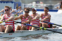 THE BRITANNIA CHALLENGE CUP<br /> Sydney R.C., AUS (427)<br /> Kingston R.C. (418)<br /> <br /> Henley Royal Regatta 2018 - Thursday<br /> <br /> To purchase this photo, or to see pricing information for Prints and Downloads, click the blue 'Add to Cart' button at the top-right of the page.