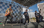 Red Hot Rebellion performs during the Beer and Chili Festival at the Grand Sierra Resort in Reno, Nevada on Saturday, Oct. 21, 2017.