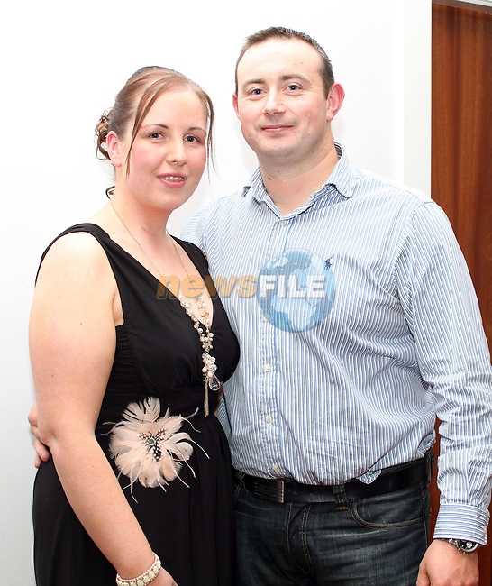 Siobhan Clinton and John Conway at their engagement party in Bru...(Photo credit should read Jenny Matthews www.newsfile.ie)....This Picture has been sent you under the condtions enclosed by:.Newsfile Ltd..The Studio,.Millmount Abbey,.Drogheda,.Co Meath..Ireland..Tel: +353(0)41-9871240.Fax: +353(0)41-9871260.GSM: +353(0)86-2500958.email: pictures@newsfile.ie.www.newsfile.ie.