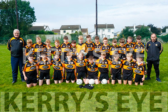 The Austin Stacks team who took part in the Lee Strand U13 Invitational Tournament at Connolly Park on Saturday.