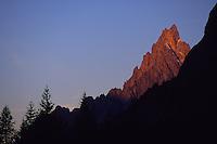 Aiguille Noire de Peuterey, Val Veni, Mont-Blanc Massif, Italy, 2007