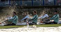 PUTNEY, LONDON, ENGLAND, 05.03.2006, CUBC,  No 4. Thorsten Englemann; No.5 Sebastian Schulte; No.6 Kieran West;   Pre 2006 Boat Race Fixtures,.   © Peter Spurrier/Intersport-images.com..[Mandatory Credit Peter Spurrier/ Intersport Images] Varsity Boat Race, Rowing Course: River Thames, Championship course, Putney to Mortlake 4.25 Miles