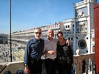 Overlooking Piazza San Marco, Venice.