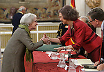 Ida Vitale receives 'XXIV Reina Sofia Iberoamerican Poetry Award' in presence of Queen Sofia of Spain. November 18, 2015. (ALTERPHOTOS/Acero)