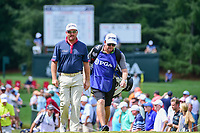 Graeme McDowell (NIR) approaches the 9th tee during Friday's round 2 of the PGA Championship at the Quail Hollow Club in Charlotte, North Carolina. 8/11/2017.<br /> Picture: Golffile | Ken Murray<br /> <br /> <br /> All photo usage must carry mandatory copyright credit (&copy; Golffile | Ken Murray)