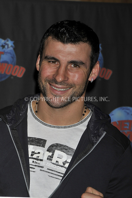 WWW.ACEPIXS.COM . . . . .  ....November 3 2008, New York City....World Champion boxer Welshman Joe Calzaghe made handprints at Planet Hollywood in Times Square on November 3 2008 in New York City....Please byline: AJ Sokalner - ACEPIXS.COM..... *** ***..Ace Pictures, Inc:  ..te: (646) 769 0430..e-mail: info@acepixs.com..web: http://www.acepixs.com