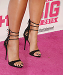 WEST HOLLYWOOD, CA - NOVEMBER 15: Model Amber Rose, shoe detail, at VH1VH1 Big In 2015 With Entertainment Weekly Awards at Pacific Design Center on November 15, 2015 in West Hollywood, California.