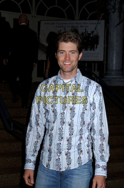 JOSH TURNER.2004  ASCAP 2004  Country Music Awards held at the Opryland Hotel, Nashville, Tennessee, USA,.8th November 2004..half length.Ref: ADM.www.capitalpictures.com.sales@capitalpictures.com.©Laura Farr /AdMedia/Capital Pictures .