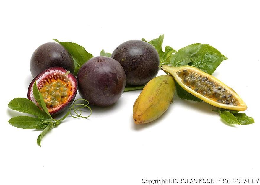Passion Fruit still life.